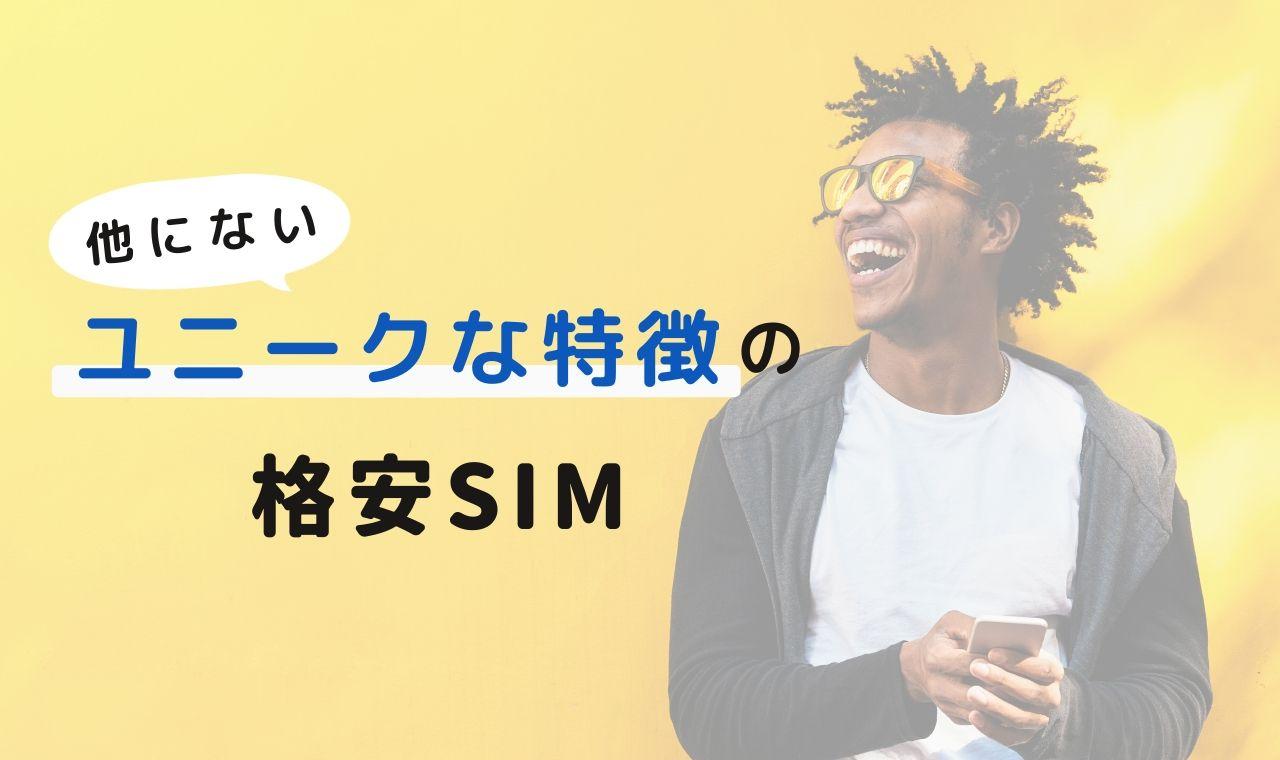 格安SIMおすすめオプション