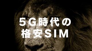 5G時代の格安SIMの覇者