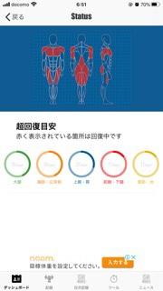 筋肉ステータス